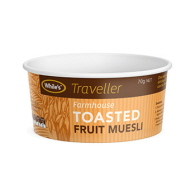 137_FC08 280ml Food Container Whiles Toasted Muesli